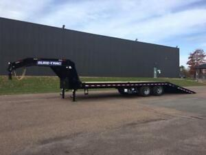 "NEW 2019 SURE-TRAC 102"" x 30' G/N DECK-OVER TRAILER (10 TON)"