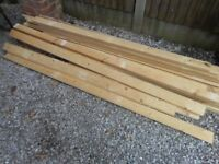 Reclaimed Pine timber wood various lengths