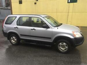 2002 HONDA CR-V 190000 KM AIR CLIM 4*4 3299