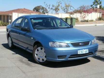 2006 Ford Falcon BF MkII XT Blue 4 Speed Auto Seq Sportshift Sedan Bayswater Bayswater Area Preview