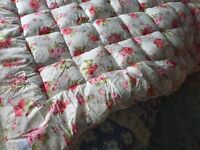 Cath Kidson quilted bed topper