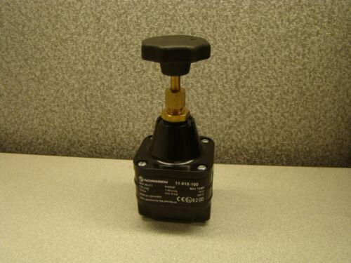 Norgren 11-818-100 Pressure Regulator, Max Inlet Press 150 PSIG, Max Temp 160ºF