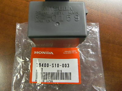 (Genuine Honda Acura OEM - Main Fuel Injector Relay - 39400-S10-003)