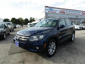 2012 Volkswagen Tiguan AWD PANORAMIC ROOF WITH LEATHER CERTIFIED