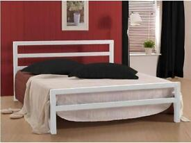 **100% GUARANTEED PRICE!**BRAND NEW-Double Bed/Small Double/Single/Kingsize City Block Metal Bed