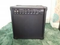 Electro Vision (GEX-158C) 15 Watt Electric Guitar Amplifier with custom artwork
