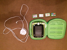 Leap pad 2 with case, charger and 4 games