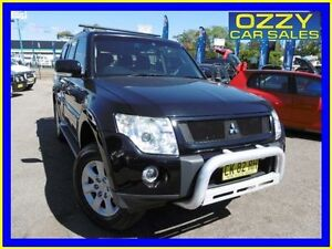 2007 Mitsubishi Pajero NS Exceed LWB (4x4) Black 5 Speed Auto Sports Mode Wagon Penrith Penrith Area Preview