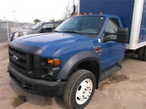 2008 Ford F550 Super Duty Diesel!  Cab Chassis!