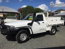 2011 Nissan Patrol MY11 Upgrade DX (4x4) White 5 Speed Manual Cab Chassis Newcastle Newcastle Area Preview