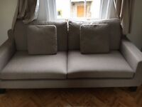HABITAT SOFA, 2 WARDROBES, 1 CHEST OF 6 DRAWERS, 1 HABITAT DINING TABLE WITH CHAIRS UP FOR SALE