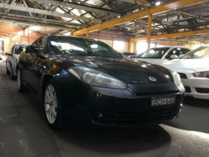 2007 Hyundai Tiburon 05 Upgrade V6 Black 6 Speed Manual Coupe Georgetown Newcastle Area Preview
