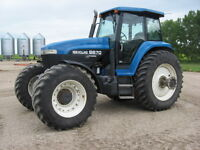 FOR SALE NEW HOLLAND 8670