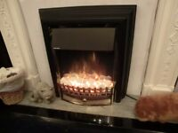Stay WARM and COSY with this Dimplex Cheriton flame effect electric fire