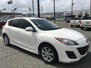 2011 Mazda 3 BL10F2 Maxx Activematic Sport White 5 Speed Sports Automatic Hatchback Croydon Burwood Area Preview