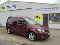 Volkswagen Caddy Maxi AUTOMATIC WINCH Wheelchair Scooter Accessible Car WAV