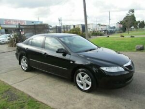 2003 Mazda 6 GG Classic Black 4 Speed Auto Activematic Hatchback Epping Whittlesea Area Preview