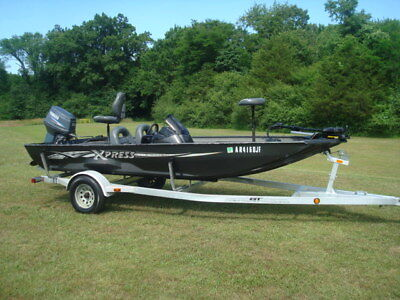 2009 Xpress Xp17  Yamaha 70 Hp Outboard   Back Track Aluminum Trailer