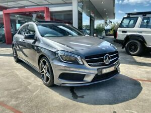 2014 Mercedes-Benz A-Class Grey Sports Automatic Dual Clutch Hatchback