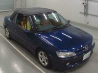 PEUGEOT 306 2.0 CONVERTIBLE AUTOMATIC TANNED LEATHER * LOW MILEAGE * TOP GRADE *