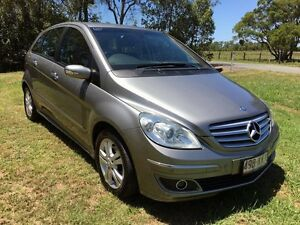 2007 Mercedes-Benz B200 W245 MY08 Turbo Silver 7 Speed Constant Variable Hatchback Stapylton Gold Coast North Preview