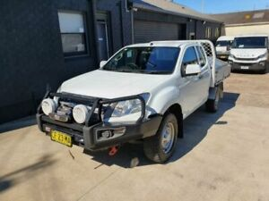 2015 Isuzu D-MAX TF MY15 SX (4x4) White 5 Speed Automatic Space Cab Chassis Peakhurst Hurstville Area Preview