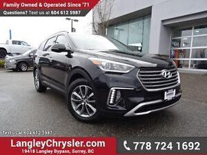 2017 Hyundai Santa Fe XL Limited ACCIDENT FREE w/ AWD, LEATHE...