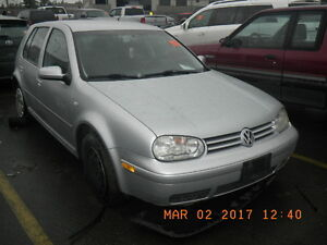 VW Golf TDI tip auto (PARTS ONLY)