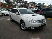 2012 Subaru Outback B5A MY12 2.0D AWD Premium White 6 Speed Manual Wagon Liverpool Liverpool Area Preview