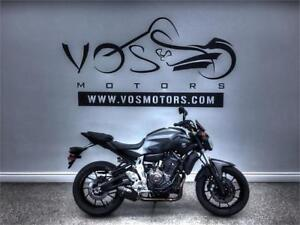 2015 Yamaha FZ07 - V3247NP - No Payments For 1 Year**