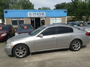 2005 Infiniti G35 Sedan AWD Fully certified and Etested!