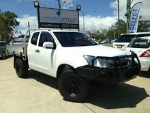2013 Isuzu D-MAX MY12 SX Space Cab White 5 SPEED Manual Cab Chassis Southport Gold Coast City Preview