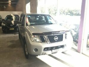 2010 Nissan Pathfinder R51 MY10 ST Silver 5 Speed Sports Automatic Wagon Cardiff Lake Macquarie Area Preview