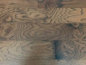 "Engineered Hardwood Rustic Hickory 1/2"" Thick"
