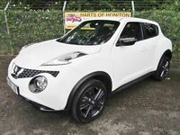 Nissan Juke 1.5 N-Connecta DCi Turbo Diesel 5DR (arcitc white) 2016