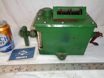 Oiler Madison Kipp 30 Ihc Mogul International Harvester For Hit Miss Gas Engine