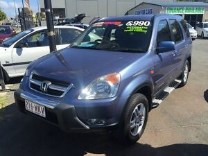 2003 Honda CR-V SPORT, 4 CYLIND ER, IMMACULATE CONDITION WITH LEATHER Blue Automatic Wagon Biggera Waters Gold Coast City Preview