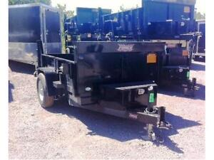 DUMP TRAILERS 5X8 OR 5X10 2 1/2 TON FROM $4395
