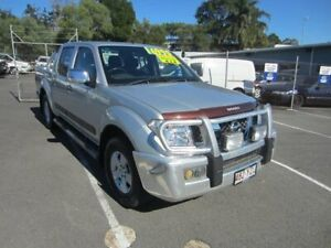 2008 Nissan Navara D40 ST-X Silver 6 Speed Manual Utility Maroochydore Maroochydore Area Preview