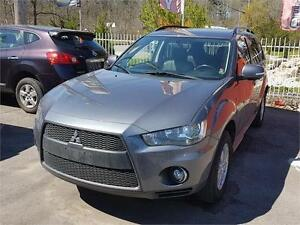 2011 Mitsubishi Outlander AWD|LEATHER|7 PASSANGER|LOADED