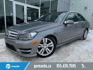 2012 Mercedes Benz C-Class C 300 4MATIC LEATHER SUNROOF
