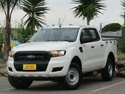 2015 Ford Ranger PX MkII XL Double Cab 4x2 Hi-Rider White 6 Speed Sports Automatic Utility Morphett Vale Morphett Vale Area Preview
