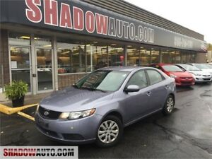 2010 Kia Forte LX- GAS SAVER!- AUTO- A/C - 4DOOR-SEDAN