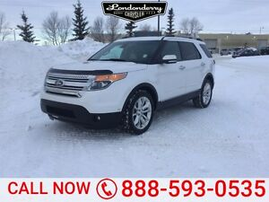 2014 Ford Explorer 4WD LIMITED Accident Free,  Navigation (GPS),