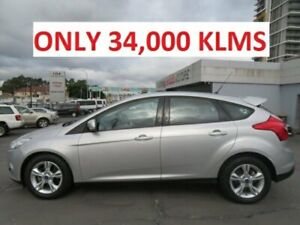 2014 Ford Focus LW MK2 MY14 Trend Silver 6 Speed Automatic Hatchback Granville Parramatta Area Preview