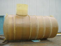 Fiberglass water and septic tanks
