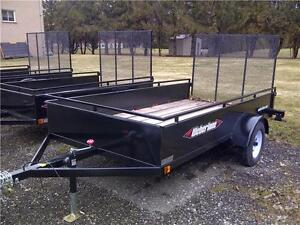NEW UTILITY OPEN TRAILERS 5 X 8 WEBERLANE