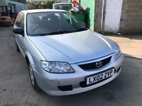 Cheap car of the day 2002 Mazda 323, starts and drives well, MOT until 13th April, car located in Gr