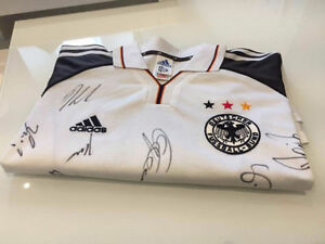 FIFA Germany World Cup 2006 authentic jersey autographed