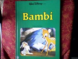 BAMBI VINTAGE CHILDREN'S BOOK 1983 EDITION - OFFICIAL WALT DISNEY - LIKE NEW